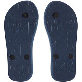 Quiksilver Molokai Slab Sandals Youth, azul/naranja